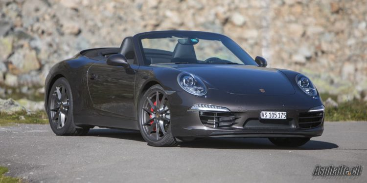 Essai longue durée Porsche 911 Carrera S Cabriolet type 991