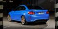BMW M2 CS bleu Misano