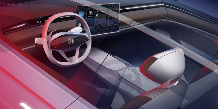 VW ID.Space Vizzion Concept Electrique intérieur