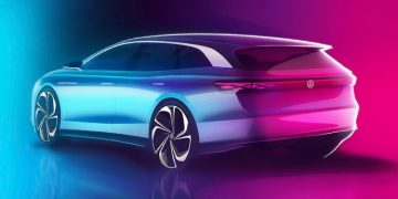VW ID.Space Vizzion concept électrique
