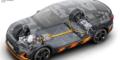 Audi e-tron S écorché