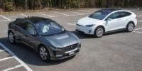 Essai comparatif: Jaguar i-Pace & Tesla Model X 100D