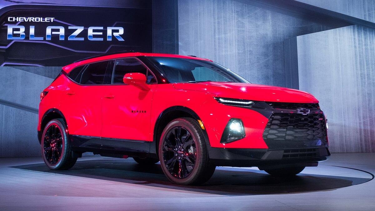 Chevrolet Blazer 2019 - Asphalte.ch